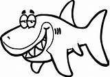Shark Coloring Fish Funny Pages Sunglasses Cartoon Drawing Print Underwater Getdrawings Printable Clipartmag sketch template