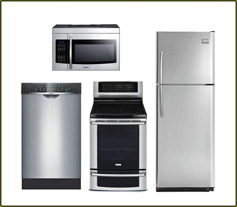 Stainless Steel Kitchen Appliance Package Lowes   Kitchen