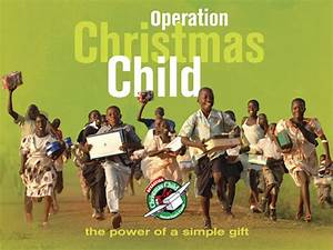 Operation Christmas Child A Reader s Story About The