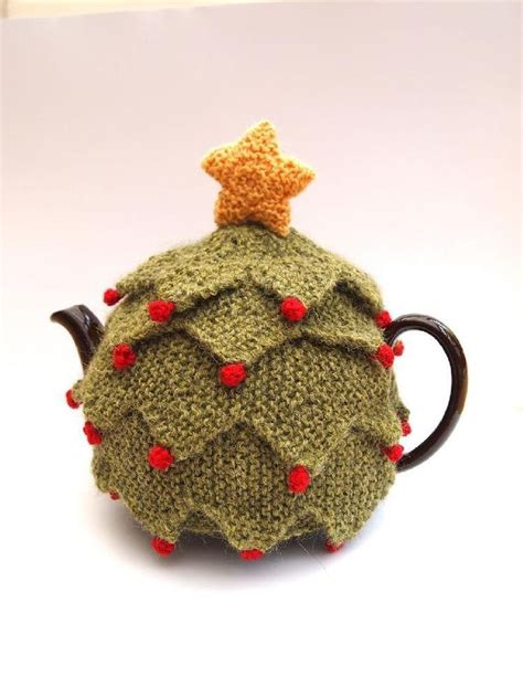 christmas knitted cozy 8 best table decorations for images on knitting stitches knit patterns