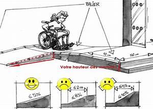 Largeur Porte Pmr : les 25 meilleures id es de la cat gorie rampe pour fauteuil roulant sur pinterest fauteuils ~ Melissatoandfro.com Idées de Décoration