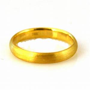 basic layout 24k gold wedding ring With 24k wedding ring
