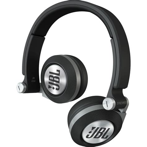 jbl e40 bt headphone jbl synchros e30 on ear headphones black e30blk b h photo