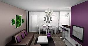 best salle a manger beige et gris photos amazing house With idees deco salon gris