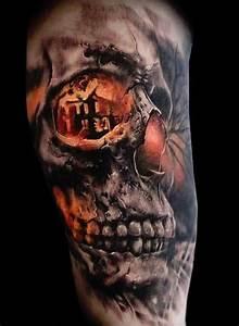 76 Crazy Skull Tattoos Designs - Mens Craze