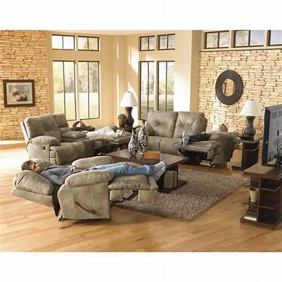 Reclining Catnapper Voyager Loveseat Sofa Power Sofas