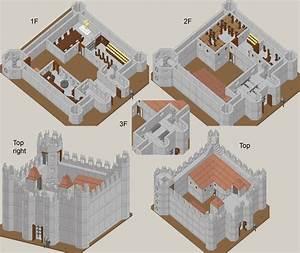 Medieval Castle Kitchen Layout