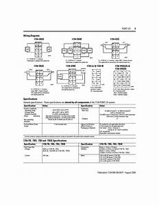 Wiring Diagrams  Specifications  1734-tb  -tbs  -tb3 And
