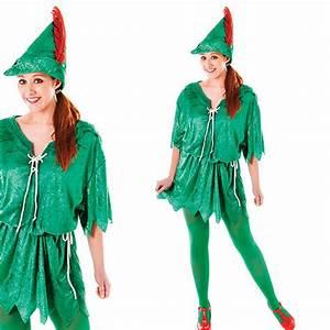 Peter Pan Kostüm Kind : damen peter pan kost m damen robin hood elf fee elf ebay ~ Frokenaadalensverden.com Haus und Dekorationen
