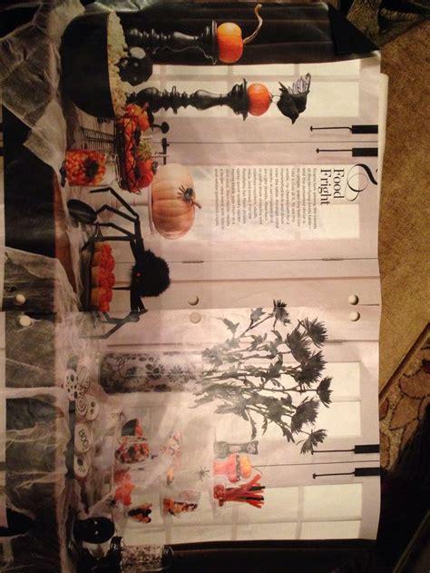halloween table setting party decor pinterest