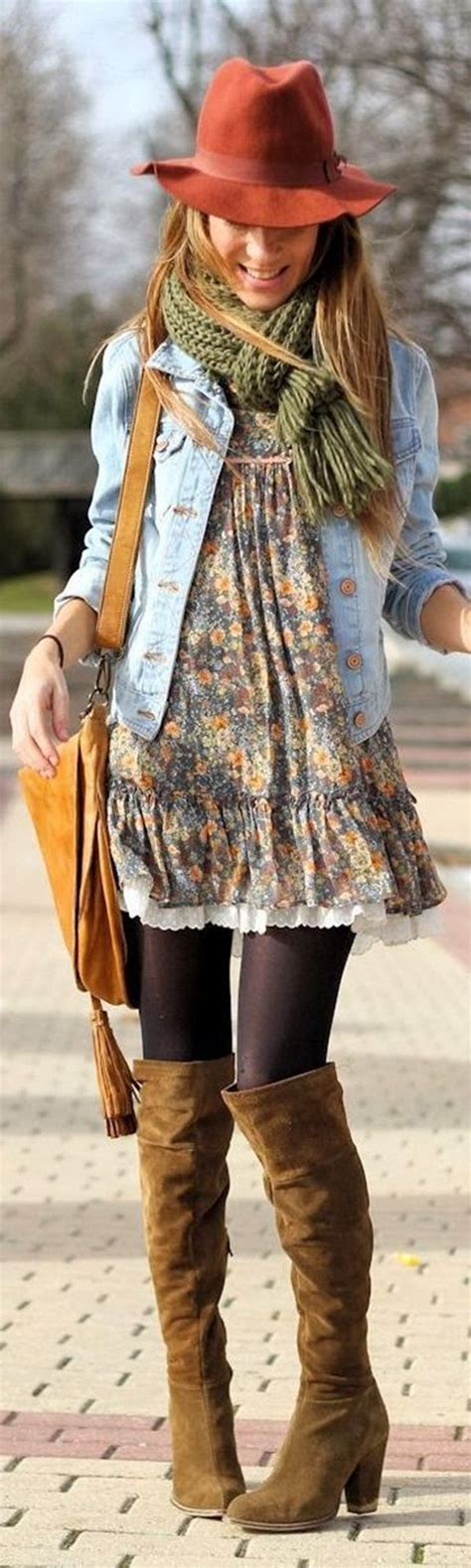 Bohemian Winter Style Dresses Collection for Stylish Girls u2013 Designers Outfits Collection