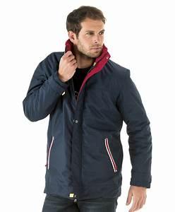 Parka Homme Bleu Marine : parka homme marine veste parka manteau mode homme ~ Melissatoandfro.com Idées de Décoration