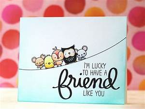 40 Cute Friendship Card Designs (DIY Ideas)