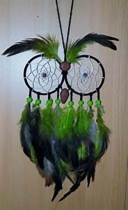 Tuto Attrape Reve Arbre De Vie : attrape reve chouette uv owl dreamcatcher uv par ~ Voncanada.com Idées de Décoration
