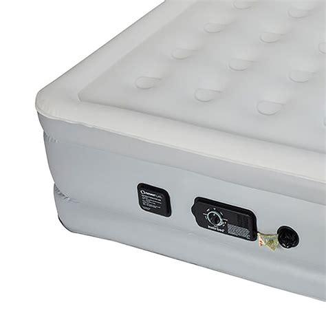 never flat air mattress insta bed 18 quot raised air mattress bed w never flat