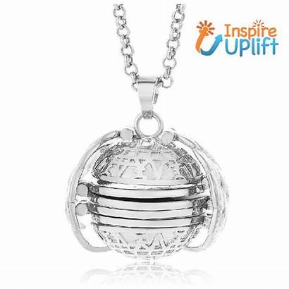 Locket Magical Expandable Inspireuplift Pendant Ball Necklace
