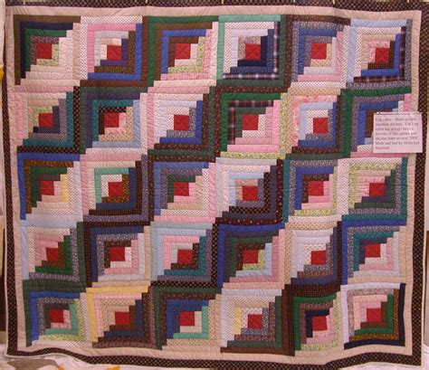 log cabin quilt pattern quilts show