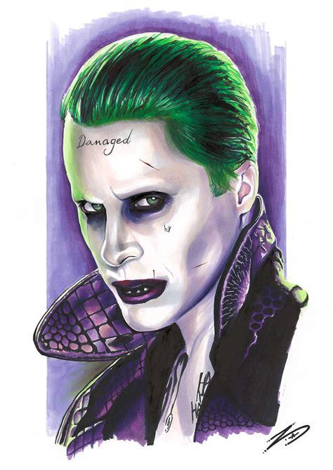 Suicide Squad Joker (jared Leto) By Eksdeth On Deviantart