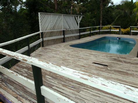 Diy Pool Deck Resurfacing Options by Diy Pool Deck Repair