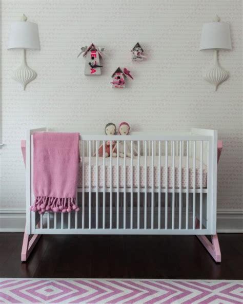 Incredibly Modern Pink Baby Girl Nursery Design