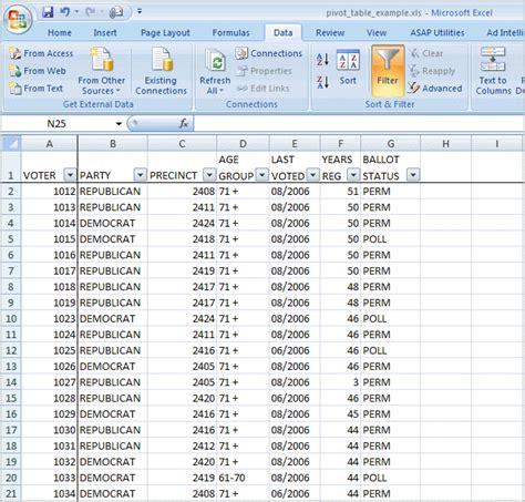 excel spreadsheet pivot table pivot table from multiple spreadsheets 2007 one pivot