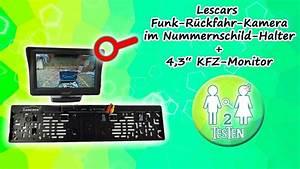 Rückfahrkamera Funk Nachrüsten : lescars funk r ckfahrkamera im nummernschildhalter ~ Watch28wear.com Haus und Dekorationen