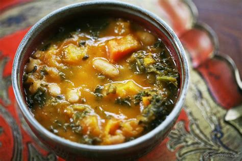 Kale And Roasted  Ee  Vegetable Ee    Ee  Soup Ee   Recipe Simplyrecipes Com