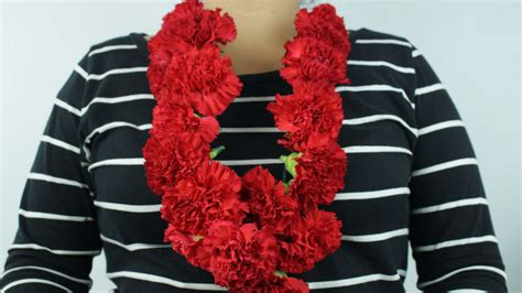 How To Make Fall Decorations At Home: How To Make A Carnation Lei: 14 Steps (with Pictures