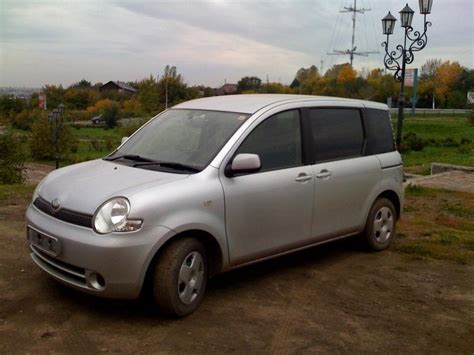 Toyota Sienta Picture by 2003 Toyota Sienta Pictures 1 5l Gasoline Ff Cvt For Sale