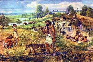 "The Paleolithic Age, or the ""Old Stone Age, was an advanc ..."