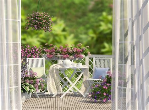 foto terrazzi terrazzi arredati e fioriti foto