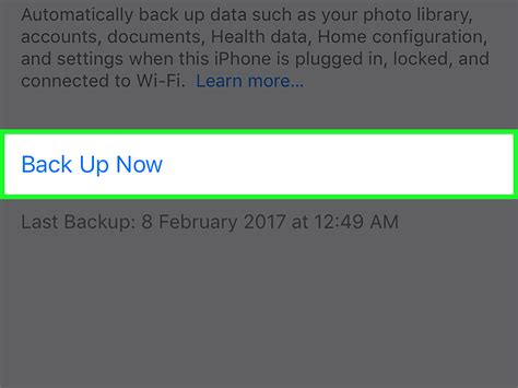 how to back up your phone to icloud how to manually back up your iphone to icloud 9 steps