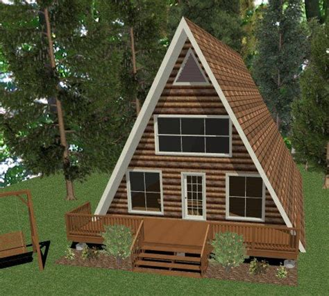 Building An A Frame Cabin by How To Build An A Frame Structure Chief Architect