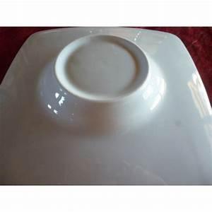 Assiette à Risotto : assiette carr a degustation risotto en porcelaine blanche diam 24cm centre vaisselle sarl ~ Teatrodelosmanantiales.com Idées de Décoration