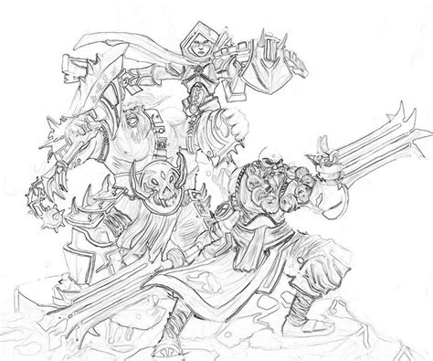 Coloring Drawings by Diablo 12 Printable Coloring Pages