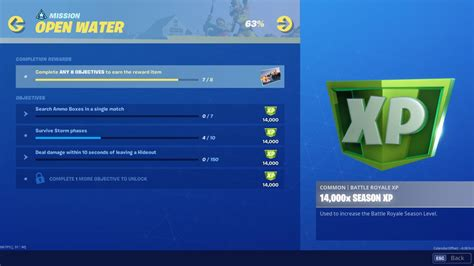 fortnite chapter   season  challenges search hidden