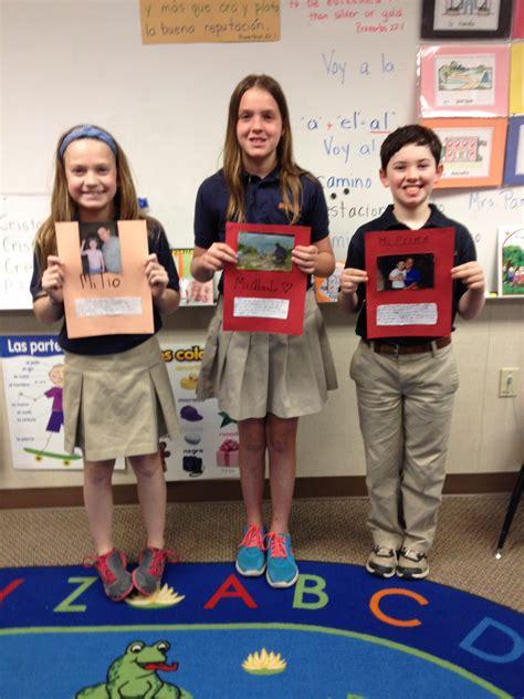Lower School Fifth Grade Spanish Lesson  Brook Hill