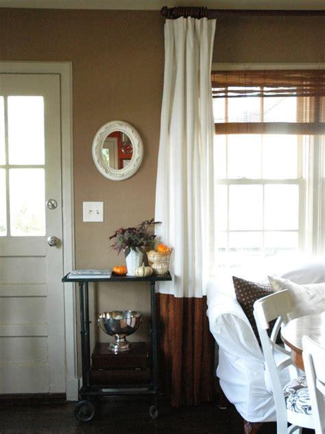 ideas  beautiful  affordable window treatments diy