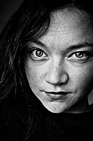 Women Black and White Face Portraits