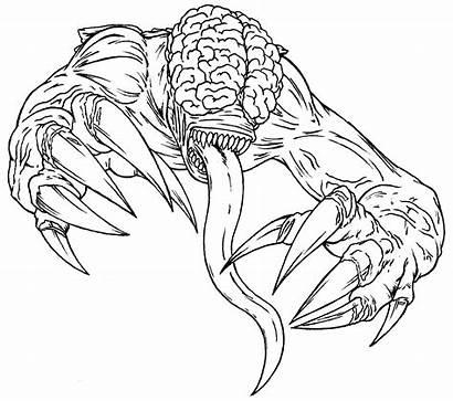 Licker Predaguy Resident Evil Drawings Deviantart