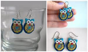 thread earrings pins jewelry pendants