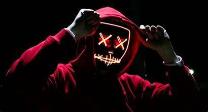 Purge Mask Led Halloween Dark Costume