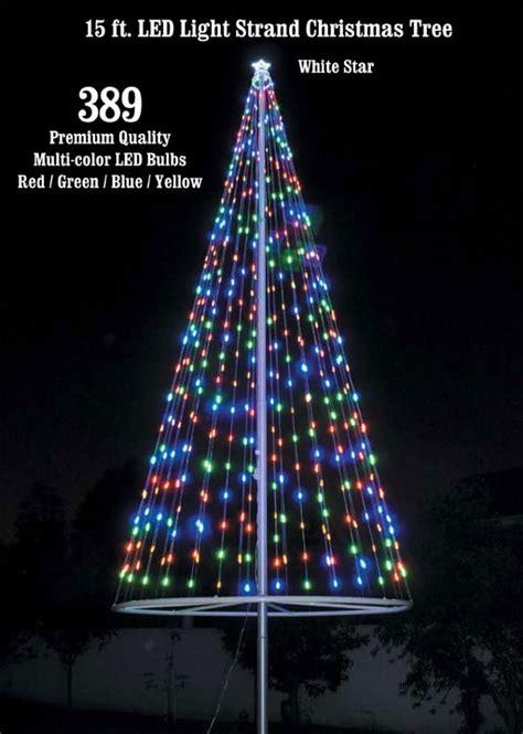 Christmas Tree Light Kitmulticolor  Flags Over America