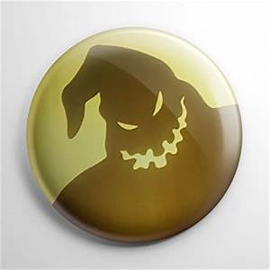 Nightmare Before Christmas – Oogie Boogie Moon Button ...
