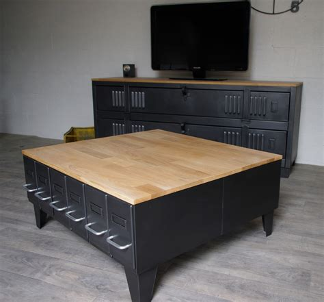 table cuisine industrielle table basse style industrielle maison design bahbe com