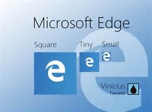 Microsoft Edge Tile