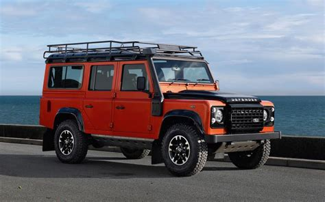 new land rover defender coming by 2015 special land rover defenders announced for final year