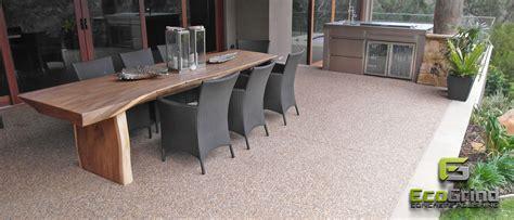 Concrete Polished Outdoor Patios & Verandahs-eco Grind