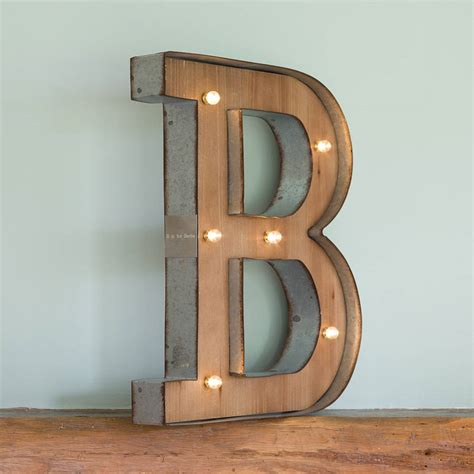alphabet letter led light all things brighton beautiful wooden alphabet letter led light by all things brighton 84198