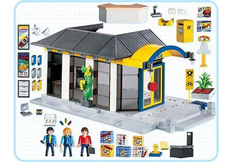 bureau de la poste bureau de poste 4400 a playmobil